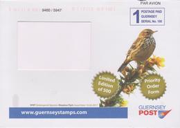 GUERNESEY, Entier Postal Oiseau, Moineau - Moineaux