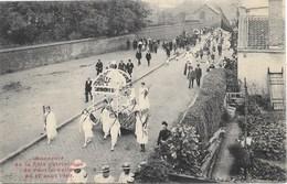 Pont-à-Celles NA5: Souvenir De La Fête Patriotique Du 17 Août 1919 - Pont-à-Celles
