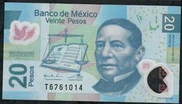 MEXICO P122i 20 PESOS 24.6.2011  #Q   VF Folds NO P.h. ! - Mexico