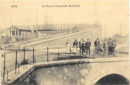 Ath NA35: Le Pont Et Passerelle Malakoff 1912 - Ath