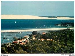Photo Cpsm Cpm 33 LE CAP FERRET. Passes D'entrée Et Dunes De Pilat 1982 - Other Municipalities