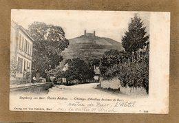 CPA -BARR (67) -Aspect De L'Hôtel-Restaurant à La Sortie Du Bourg Vers La Vallée St-Ulrich Et Château D'Andlau En 1900 - Barr