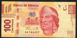 MEXICO P124i  100 PESOS 24.4.2013   #AB   VF Folds NO P.h. ! - México