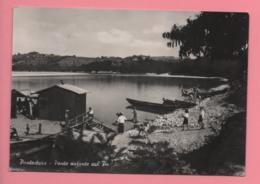 Pontestura - Ponte Natante Sul Po - Alessandria