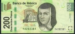 MEXICO P125au  200 PESOS 4.4.2014   #AU   AU-UNC. - México