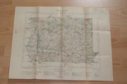 Carte Topographique Arcis Sur Aube  Année 1909,tampon Du Ministère De L'intérieur. - Carte Topografiche