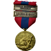 France, Missions D'Assistance Extérieure, Bâtiments De Combat, Médaille - Army & War