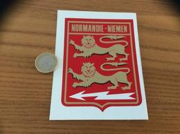 AUTOCOLLANT, Sticker «NORMANDIE-NIEMEN» (militaire, Armée De L'air, Blason) - Autocollants