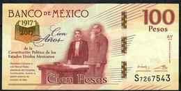 MEXICO P130 ?   100 PESOS 25.1.2016  #AY  VF NO P.h. - México