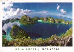 Raja Ampat Islands Archipelago (Coral Triangle) West Papua Province.Banda Sea, Postcard Sent To ANDORRA. - Postcards
