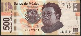 MEXICO P126m ?    500 PESOS 16.1.2017 #BK      XF - Mexico