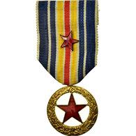 France, Blessés Militaires De Guerre, Médaille, 1914-1918, Excellent Quality - Army & War