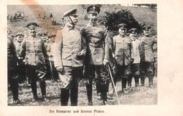 CPA - DER KRONPRINZ Und GENERAL VON MUDRA (général Allemand De La Deutsches Heer) - Autres
