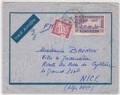 LSC -  SAINT-LOUIS Pour NICE  / AOUT 42 - Sénégal (1887-1944)