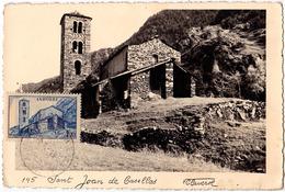 ANDORRE / ANDORRA : ST. JEAN DE CASELLES / SANT JOAN DE CASELLAS - CARTE MAXIMUM POSTCARD - V. GLAVEROL (ac030) - Andorre