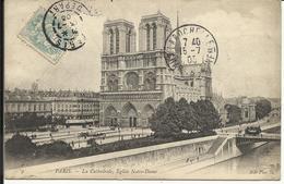 PARIS ( 4° ) , La Cathédrale , Eglise Notre Dame De Paris , 1905 - Notre Dame De Paris
