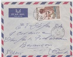 LSC - PAR AVION  - PAPETE RP 12/5/1962 - Tahiti (1882-1915)