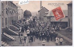 PONT-MAUGIS- FETES DE JEANNE D ARC- 1909- PROCESSION- 1 - France