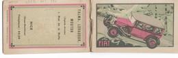 PUBBLICITA' FIAT  BLOCK-NOTES CM.10X6 INTERNO IMMAGINE FIAT 525-521-509-520-3 SCANNER -2-28894-895-896 - Reclame