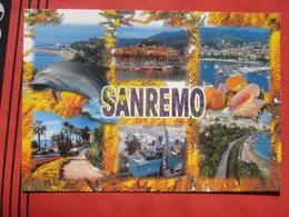 Sanremo (Imperia) - Mehrbildkarte / Falsches Stempeldatum!! - San Remo