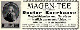 Original-Werbung/ Anzeige 1909 - DOCTOR BOERHAAVE MAGENTEE / BUFF - ECHTERNACH - Ca. 115 X 45 Mm - Publicités