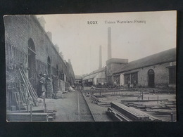 1910 CP Roux Usines Wattelare-Francq Edit Lucien Gonsette - Charleroi