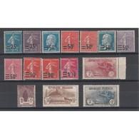 TIMBRES ANNEE COMPLETE 1926 NEUF N°231 Et 232 Signés Côte 626 Euros - France