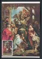 Gibraltar - Carte Maximum 1978 - Oeuvre De Rubens - Gibraltar