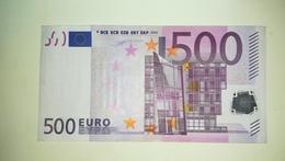EURO-GERMANY 500 EURO (X) R001 Sign DUISENBERG - EURO
