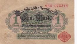 EINE MARK REICHSFCHULDENVERMATTUNG DARTEHENSKAFFENFSCHEIN - BLEUP - [ 2] 1871-1918 : Impero Tedesco
