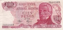 BANCO CENTRAL DE LA REPUBLICA ARGENTINA CIEN PESOS GRAL SAN MARTIN USHUAIA - BLEUP - Argentina
