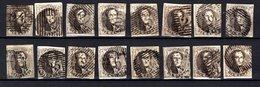 Lot De Médaillons 10 Centimes N° 6 - Tous Margés - 1851-1857 Medaillen (6/8)