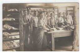 """Belgisch Rijn Bezettings Leger 1921  """"De Lustige Bakkers"""" Fotokaart Met Burm Kamiel Temse - Militaria"""