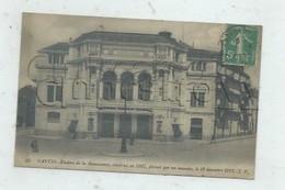 """Nantes (44)  : Théâtre """"Renaissance"""" Avant L'incendie En 1913 (animé) PF. - Nantes"""