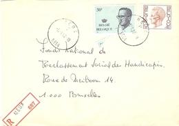 Belgique 1982 - Lettre Recommandée De Meux - Province De   - COB - Belgique