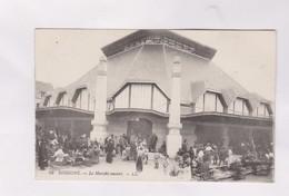 CPA DPT 02 SOISSONS, LE MARCHE COUVERT - Soissons