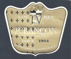 Etiquette Vin Jurançon Doux 1964 - Etiquettes
