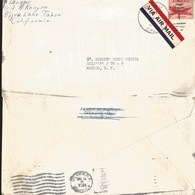 J) 1951 UNITED STATES, AIRPLANE, AIRMAIL, CIRCULATED COVER, FROM CALIFORNIA TO MEXICO - United States