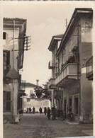 CAVAGLIA-VERCELLI-VIA XX SETTEMBRE-CARTOLINA VERA FOTOGRAFIA NON VIAGGIATA ANNO 1935-1945 - Vercelli
