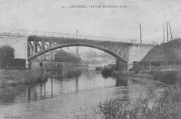 Louvroil.  Le Pont Du Chemin De Fer.    Scan - Louvroil