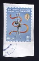 Italia Italy Italie Usat0 2019 175º Anniversario Della Fondazione Della Reale Società Ginnastica Torino - 1946-.. République