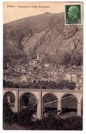 4173 - Tenda ( Piemonte ) Italie - Panorama E Ponte Ferroviario - - Italie