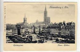 67 - STRASSBURG I Els - STRASBOURG - Place Kleber - - Strasbourg