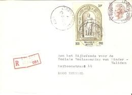 Belgique 1981 - Lettre Recommandée De Lmebeke - Province De   - COB - Belgique