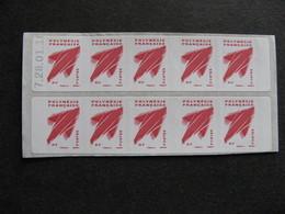 Polynésie:TB Carnet  N° C 737 A , Daté , Neuf XX. - Carnets