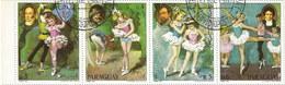 Paraguay 1980: Satz Nr. 3291-3299° - Berühmte Musiker + Ballettszenen - Paraguay