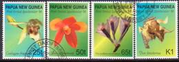 PAPUA NEW GUINEA 1998 SG #837-40 Compl.set Used Orchids - Papua New Guinea