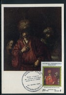 Madagascar - Carte Maximum 1986 - Oeuvre De Rembrandt - Madagascar (1960-...)