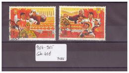 CHINA - No 964-965 OBLITERE  - !!!WARNING: NO PAYPAL!!! - COTE: 40 € - 1949 - ... République Populaire