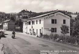 CASTELNOVO MONTI-REGGIO EMILIA-LOCANDA=SPARAVALLE==INSEGNA=SALI E TABACCHI)VESPA PIAGGIO- VIAGGIATA IL 22-9-1964 - Reggio Emilia